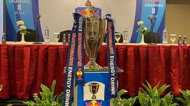 Trofi Piala Indonesia 2018 (Suara.com / Adie Prasetyo)