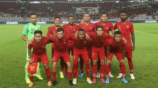 Starting XI Timnas Indonesia. [Arya Manggala]