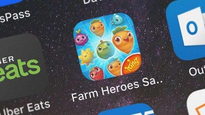 Game Farm Heroes Saga. [Shutterstock]