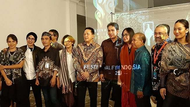 Konfrensi pers ajang Festival Film Indonesia (FFI) 2019. [Yuliani/Suara.com]