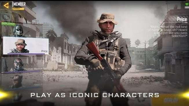 Salah satu tokoh jagoan dalam game Call of Duty: Mobile. [callofduty.com]