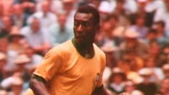 Pemain legenda Brasil, Pele. (Youtube/FIFATV)