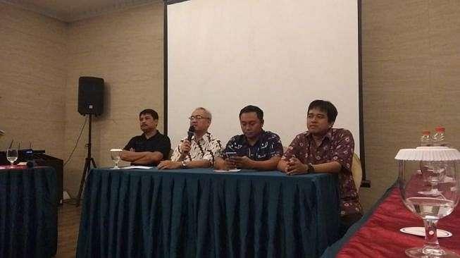 CEO PSS Sleman, Fatih Chabanto, di Hotel Rich, Kamis (14/2/2020). (Irwan Febri Rialdi).
