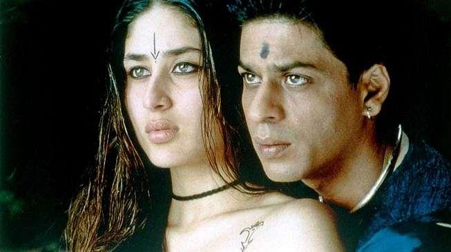 Shahrukh Khan dan Kareena Kapoor dalam film Asoka.