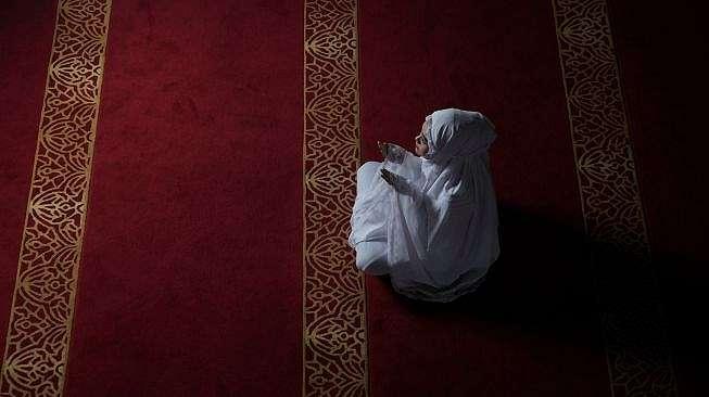 Ilustrasi salat, sholat, ibadah, berdoa. [Shutterstock]
