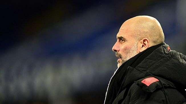 Manajer Manchester City, Pep Guardiola. [MICHAEL REGAN / POOL / AFP]