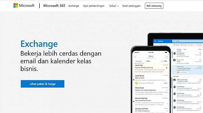 Microsoft Exchange. [Microsoft]