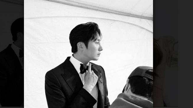 Jung Il Woo di Baeksang Arts Awards. [Instagram/jilwww]