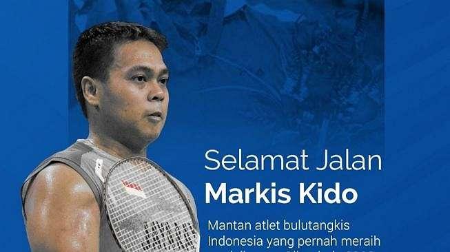 Ungkapan duka cita Arema FC untuk almarhum Markis Kido (Instagram Story Arema FC/@aremafcofficial).
