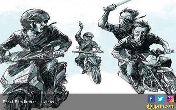 Waspada Begal Pakai Modus Ini Sedang Marak di Tangerang