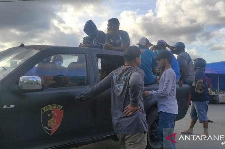 Para Preman di Ambon juga Disikat Polisi, Lihat Penampakannya