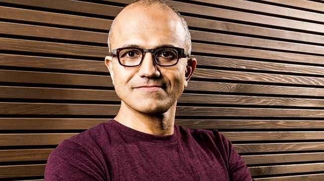 Satya Nadella, CEO Microsoft. [Shutterstock]