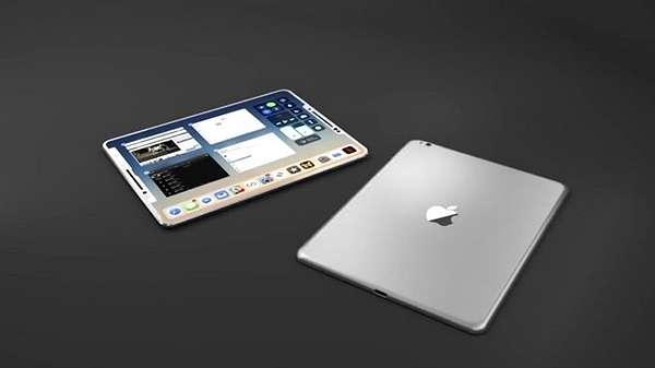 Apple iPad Generasi Mendatang Pakai Layar Full Screen Mirip iPhone X?