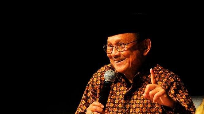 Presiden ketiga RI, BJ Habibie meninggal dunia.