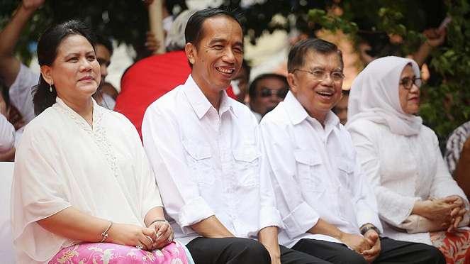 Deklarasi Joko Widodo ( jokowi ) dan Jusuf Kalla