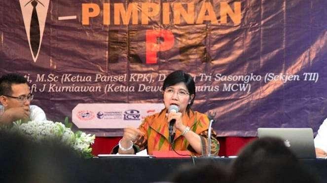 Ketua Pansel KPK Destri Damayanti di Malang