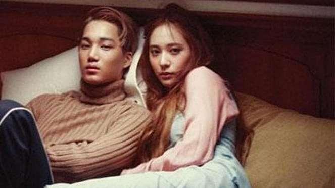 Kai EXO dan Krystal