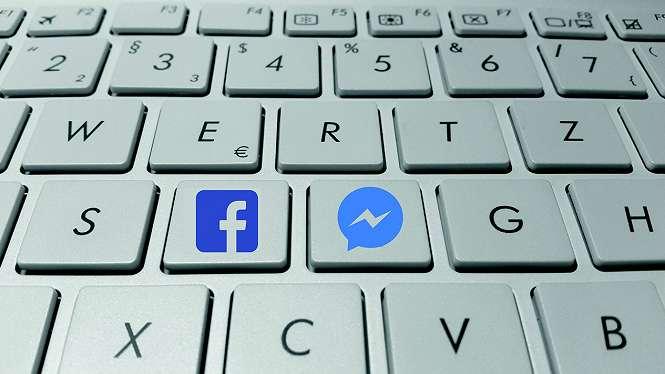 Ilustrasi Messenger Facebook.