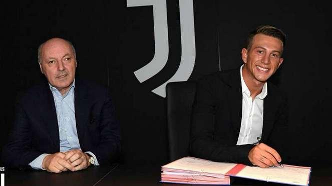 Winger Juventus, Federico Bernardeschi (kanan).