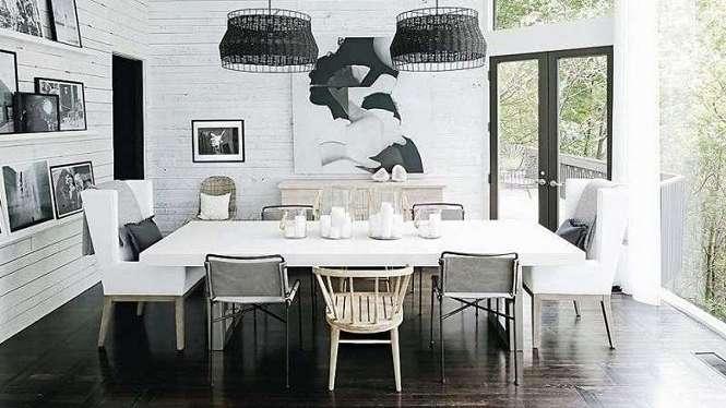 Interior rumah model Josephine Skriver