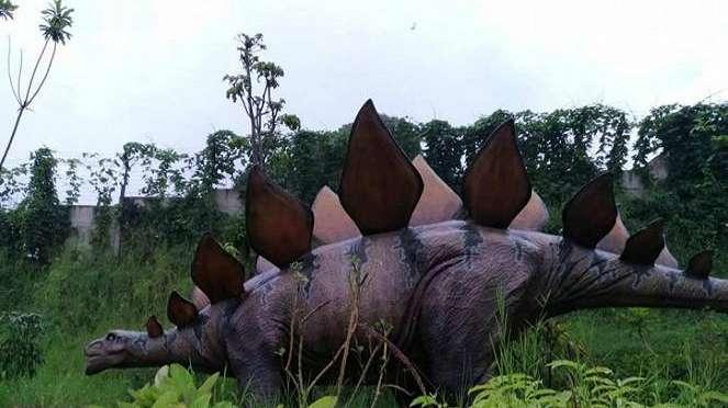 Taman Dinosaurus di Jatim Park 3.