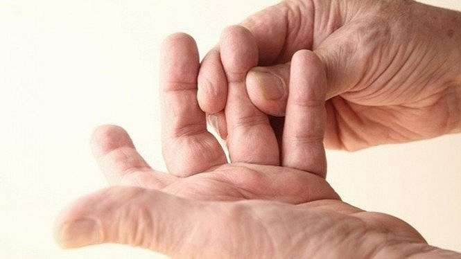 Ilustrasi jari tangan.