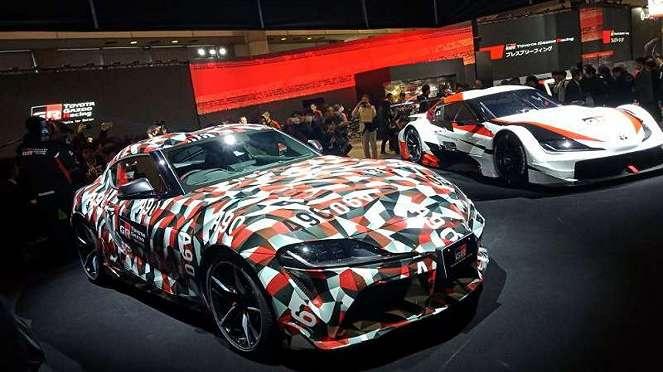Booth Toyota Gazoo Racing di Tokyo Auto Salon 2019