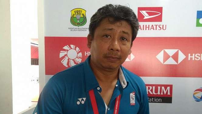 Pelatih tim bulutangkis Thailand asal Indonesia, Agus Dwi Santoso