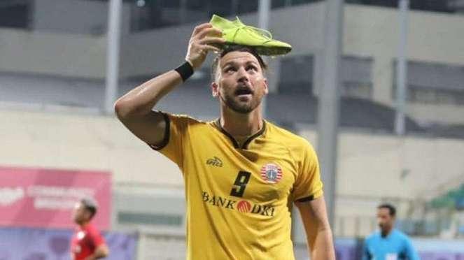 Bomber Persija, Marko Simic sumbang gol ke gawang Home United