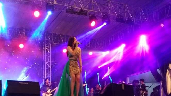 Ucie Sucita tampil di Konser Gebyar Pesona HPN di Surabaya