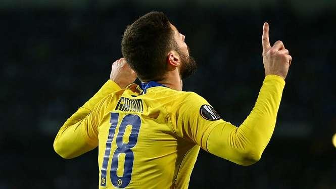 Penyerang Chelsea, Olivier Giroud
