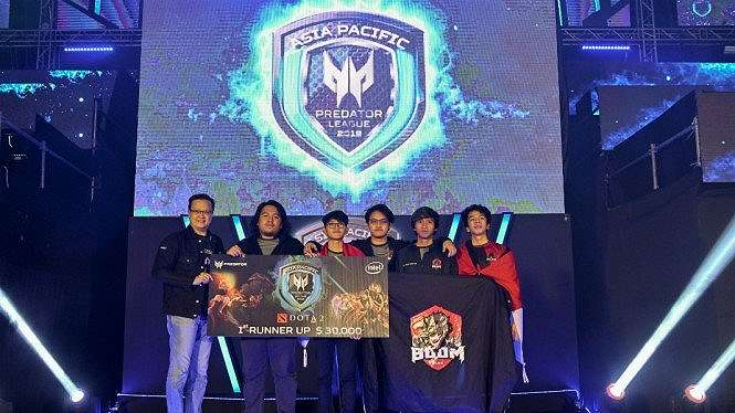 BOOM ID Runner Up 1 Asia Pacific Predator League 2019