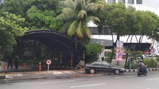 Hotel Bumi tempat Ketua Umum PPP Romahurmuziy ditangkap KPK di Surabaya, Jawa Ti