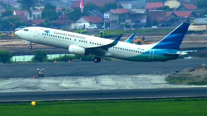 Garuda Indonesia/Ilustrasi.