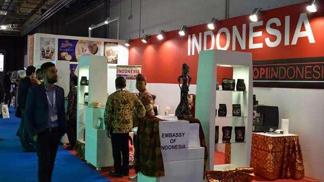 Promosi kopi Indonesia di Yunani.