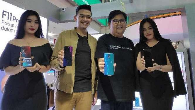 Penjualan perdana Oppo F11 Pro di ITC Roxy Mas, Jakarta, Sabtu, 23 Maret 2019.