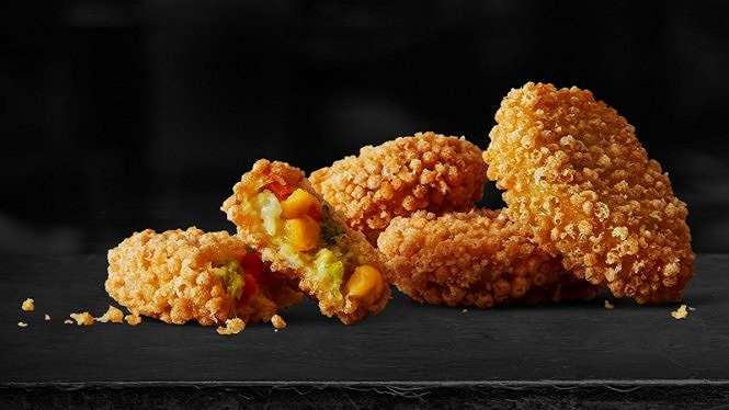 Nugget vegetarian McDonald s.