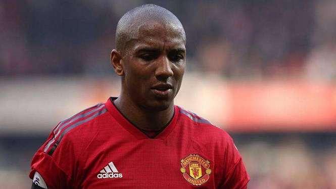 Pemain veteran Manchester United, Ashley Young