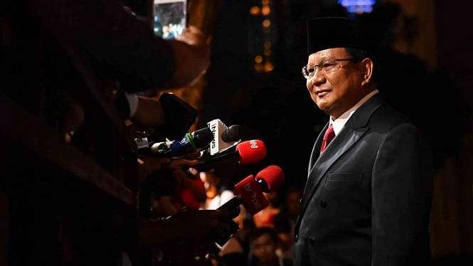 Capres nomor urut 02 Prabowo Subianto.