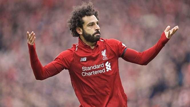 Penyerang Liverpool, Mohamed Salah