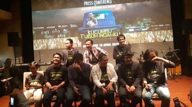 Konferensi pers film Kucumbu Tubuh Indahku