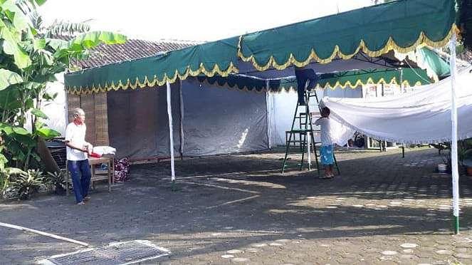 Tempat Pemungutan Suara 38 di Tirtoyoso, Manahan, Solo, Jawa Tengah, lokasi kelu