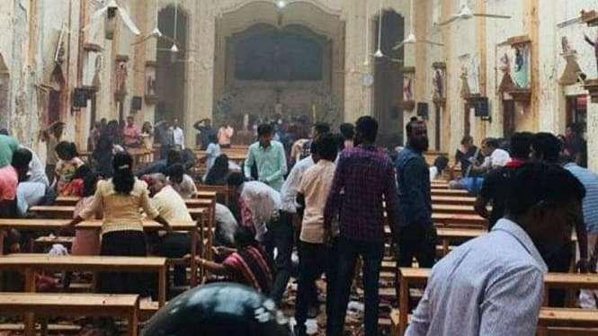 Ledakan di gereja di Srilanka saat Paskah 2019, 49 orang tewas