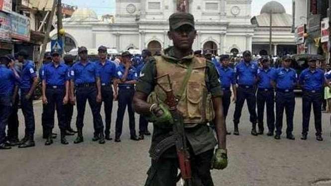 Pengeboman tiga gereja dan dua hotel di Sri Lanka