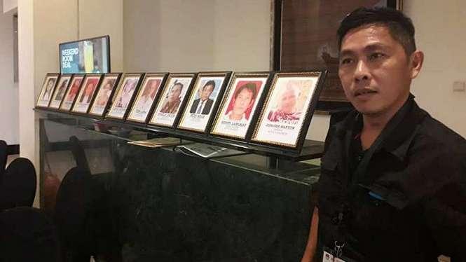 Foto 11 pahlawan demokrasi atau petugas KPPS Sulawesi Utara