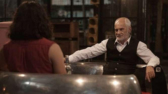 Aktor kawakan Robby Sugara di film horor Jangan Sendirian.