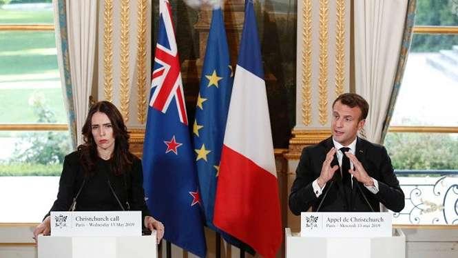 Perdana Menteri Selandia Baru Jacinda Ardern bersama Presiden Prancis Emmanuel Macron memimpin upaya sejumlah negara melarang penggunaan internet untuk menyebarkan ekstrimisme dan kebencian.