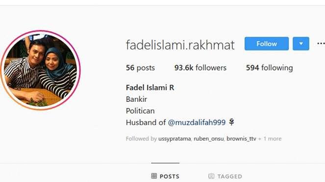 Instagram Fadel Islami