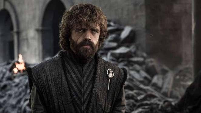 Tyrion Lannister (Peter Dinklage) dalam Game of Thrones Season 8.