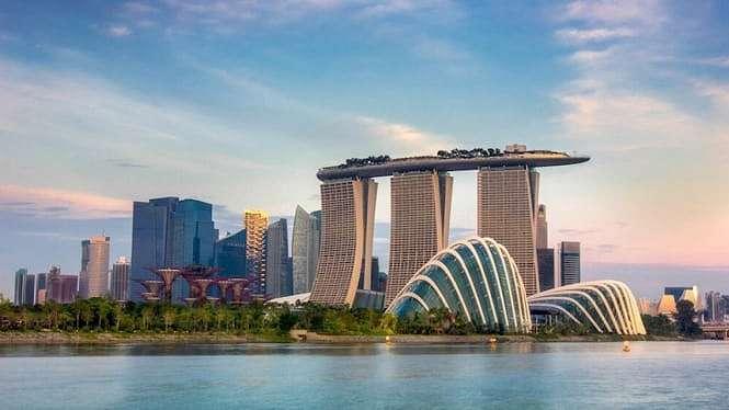 Ilustrasi Singapore.